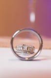 обручальные кольца wedding Стоковое фото RF