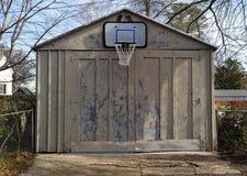 Обруч баскетбола Американа стоковое фото rf
