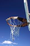 обруч баскетбола используемый наилучшим образом Стоковая Фотография