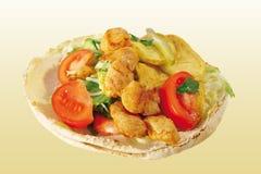 обруч салата из курицы Стоковое Фото