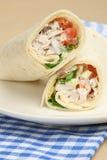 обруч сандвича салата из курицы Стоковая Фотография