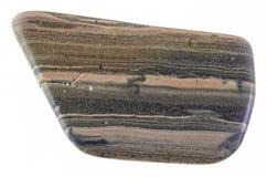 обрушенный камень сланца рухляка (marlstone) на белизне стоковые изображения