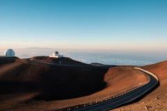 Обсерватории высокие в горах Стоковое Изображение