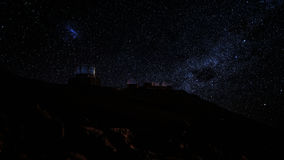 Обсерватории на саммите Haleakala, Мауи стоковое фото