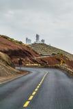 Обсерватория в Тенерифе, Испании Стоковое Фото