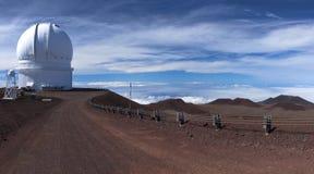 Обсерватория Канада-Франция-Hawai i Стоковое фото RF