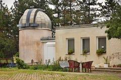 Обсерватория на холме около Belogradchik bulbed стоковое фото