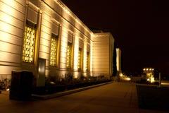обсерватория ночи griffith Стоковая Фотография RF