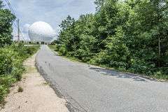 Обсерватория стога сена Массачусетсского института Стоковое Изображение RF