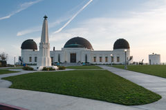 обсерватория angeles california griffith los Стоковые Фото