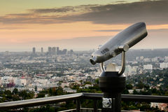 обсерватория angeles griffith los Стоковая Фотография RF