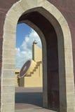 обсерватория jaipur королевская Стоковое фото RF