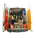 обслуживайте фургон стоковая фотография