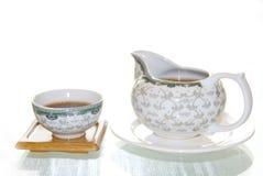 обслуживайте чай Стоковое Изображение RF