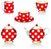 обслуживайте чай Стоковая Фотография RF