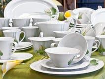 обслуживайте чай Стоковое фото RF