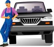 обслуживание автомобиля Стоковые Изображения RF