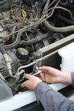 обслуживание автомобиля Стоковое фото RF