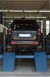 обслуживание автомобиля Стоковые Фотографии RF