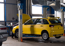обслуживание гаража автомобиля Стоковое фото RF