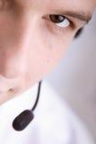 обслуживание клиента крупного плана Стоковые Изображения