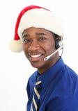 обслуживание клиента рождества Стоковые Изображения
