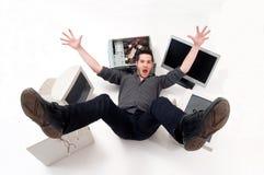 обслуживание компьютера Стоковая Фотография