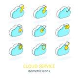 Обслуживание 1 облака Стоковое Изображение