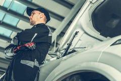 Обслуживание обслуживания автомобиля стоковые изображения rf
