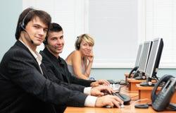 обслуживание офиса клиента Стоковые Изображения RF