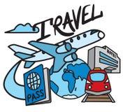 Обслуживание перемещения и курорта Стоковые Изображения