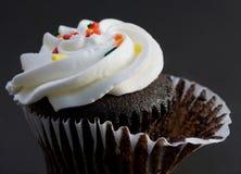 обслуживание пирожня шоколада Стоковые Фото