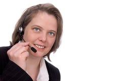 обслуживание представителя клиента Стоковые Изображения RF