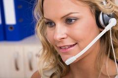 обслуживание представителя клиента стоковое изображение rf