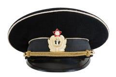 обслуживание русского пика военно-морского флота крышки Стоковое Фото