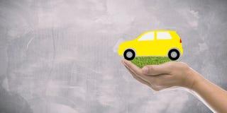 Обслуживание страхования автомобилей стоковое изображение