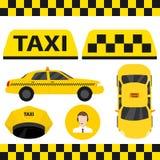 Обслуживание такси Такси иллюстрация вектора