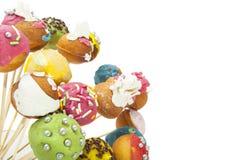 Обслуживание торта шипучки Стоковые Фото