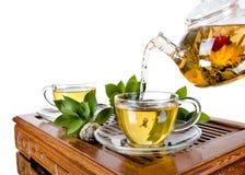 Обслуживание чая Стоковые Фотографии RF