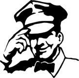 обслуживание чернокожего человек Стоковое Фото