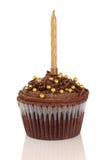 обслуживание шоколада торта Стоковая Фотография