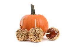 обслуживания постоянного посетителя halloween carmel яблока candied Стоковые Изображения