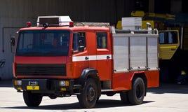 обслуживания firetruck аэробазы непредвиденные Стоковое Фото