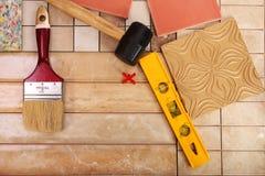 обслуживания tiler 20-4-часа Стоковые Изображения