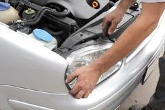 обслуживать автомобиля стоковые изображения rf