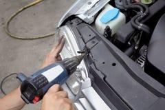 обслуживать автомобиля стоковое фото rf