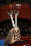 обслуживать механика автомобиля стоковые фотографии rf