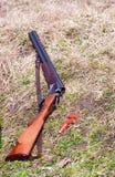обстреливает корокоствольное оружие Стоковое Фото