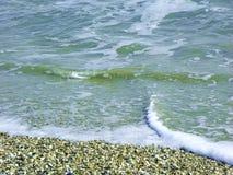 Обстреливайте пляж Стоковое Фото