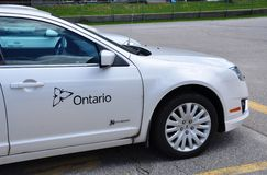 Обслуживайте автомобиль Онтарио Стоковая Фотография